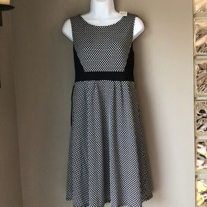 Motherhood Maternity Polka Dot Dress sz M NWT